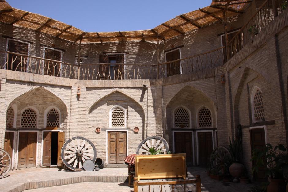 Amulet Hotel inside a converted madrassah