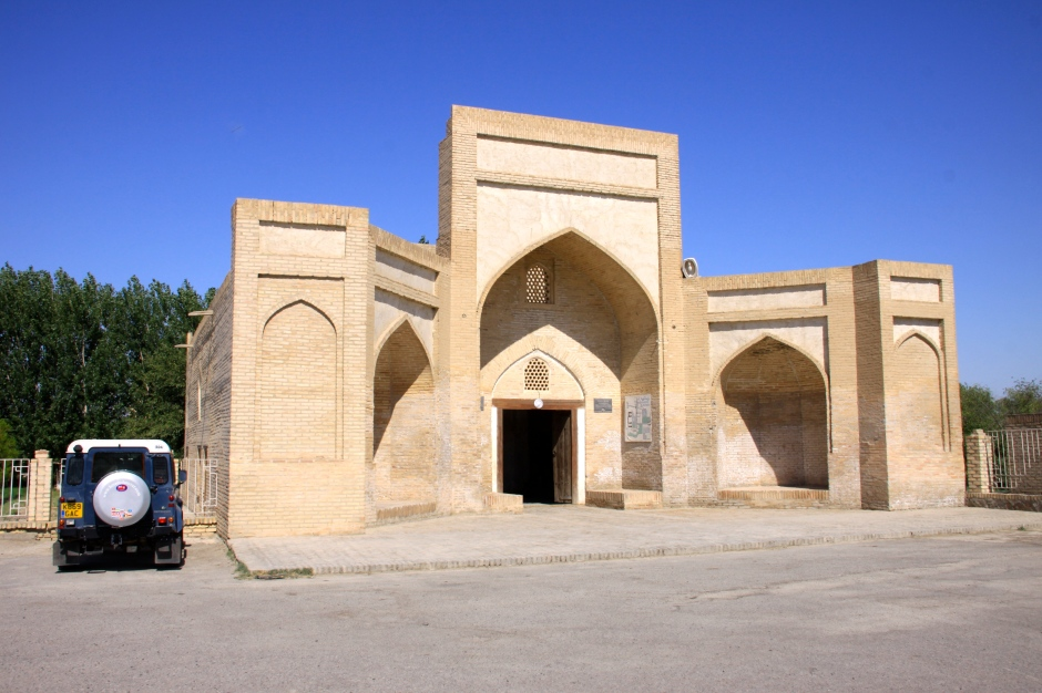 Entrance to the Chor-Bakr Necropolis