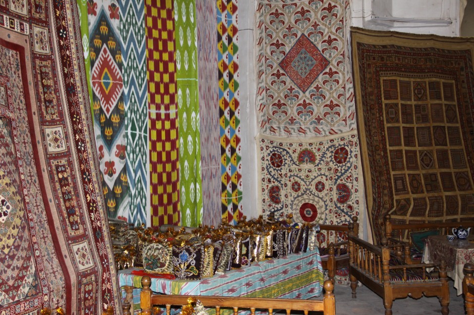 Some of the carpets on sale