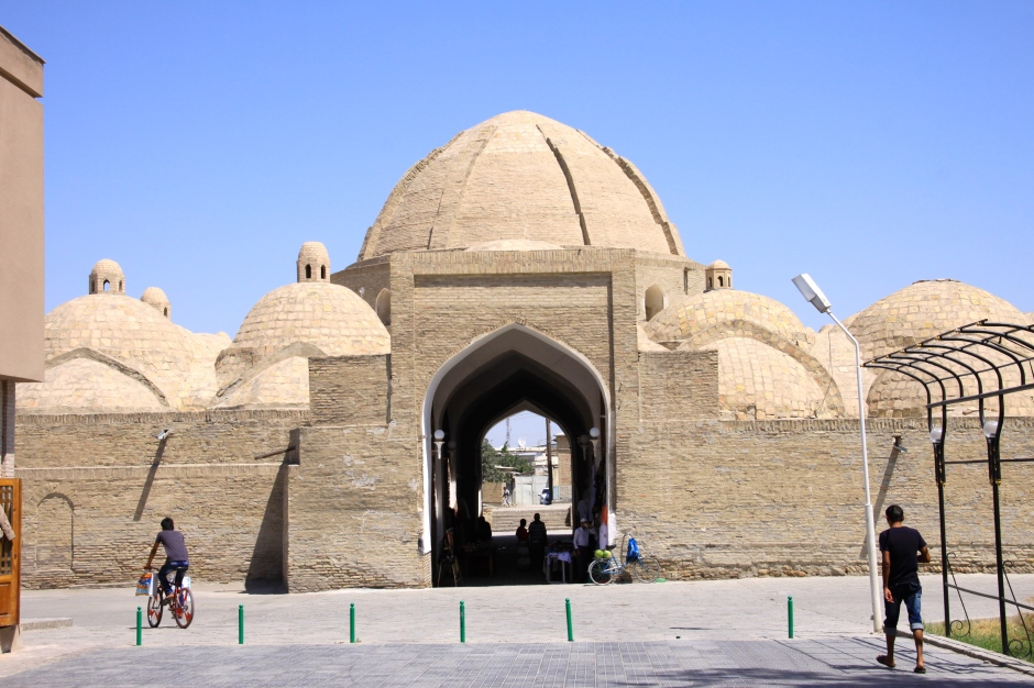 One of several trading domes in Bukhara - now occupied by souvenir stalls