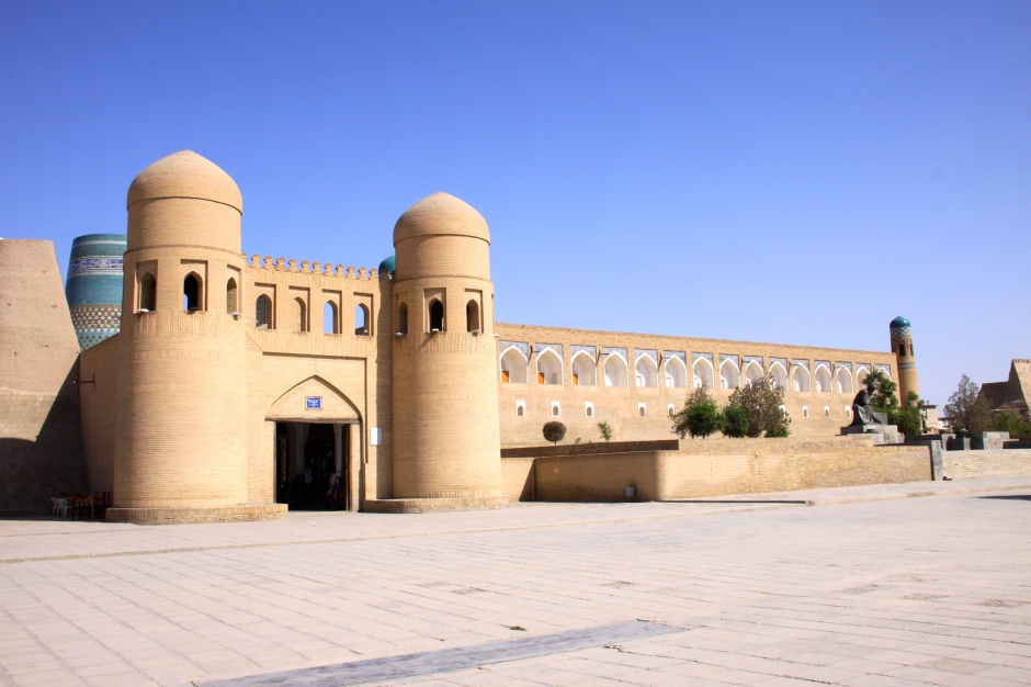 Western gate of Itchan Kala - Khiva old town