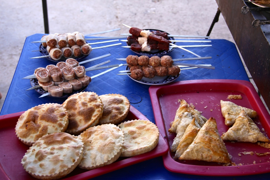 Some of the food available in the market