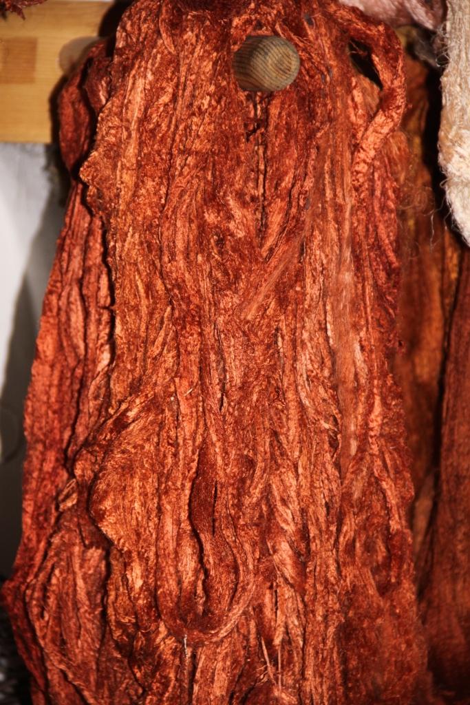 Carpet silk