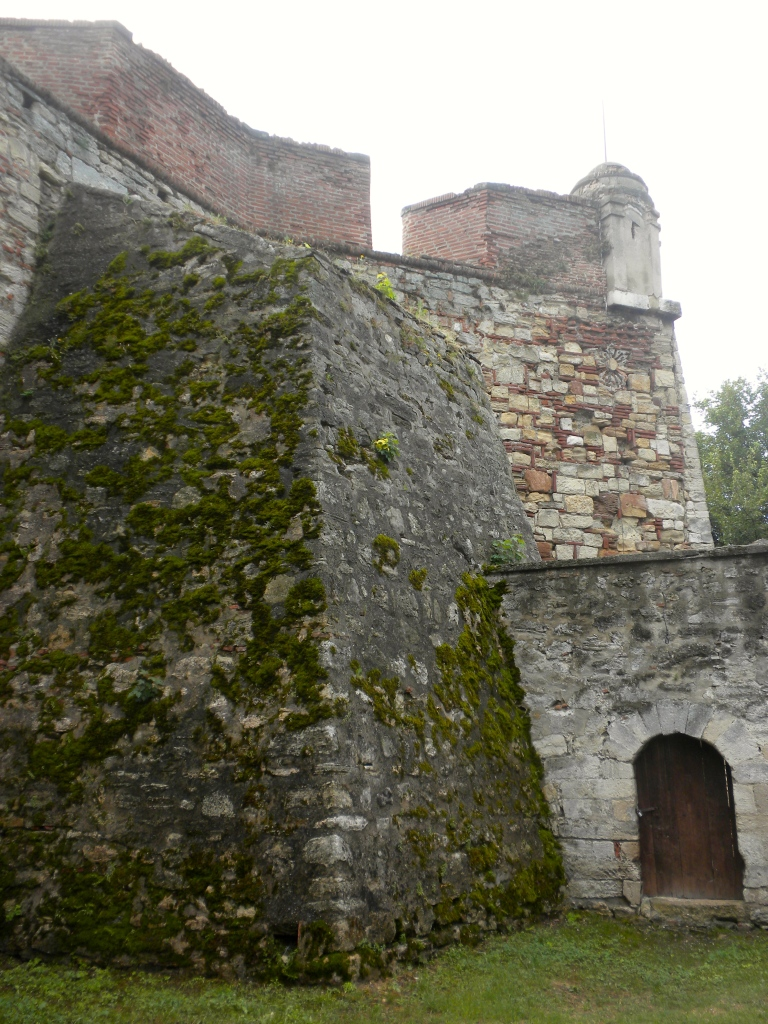 The walls viewed from the moat