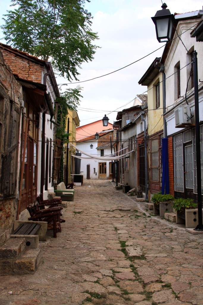 Lots of narrow lanes to explore in the old town