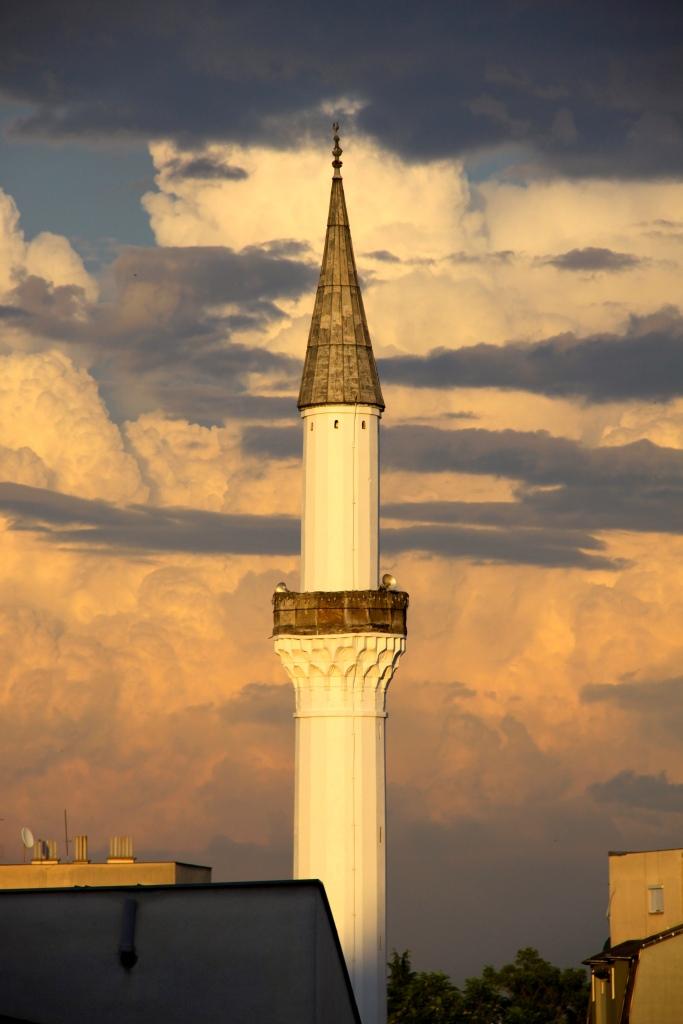 Minaret of the Murat Pasha Mosque (1802)