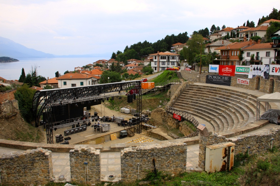 The Hellenistic amphitheatre (built in 200BC) is still used for shows