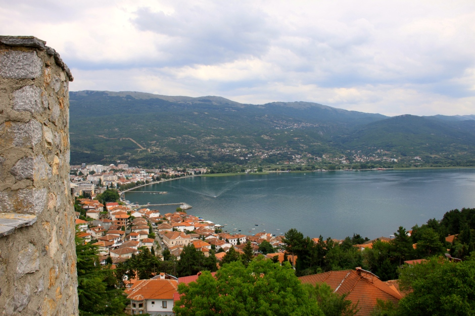 View of the bay from the Samuil's Fortress