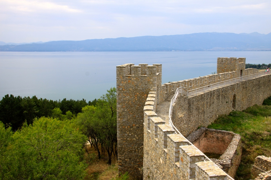 The fortress has commanding views in all directions