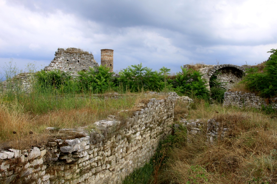 Overgrown ruins of the Lord's Fortress