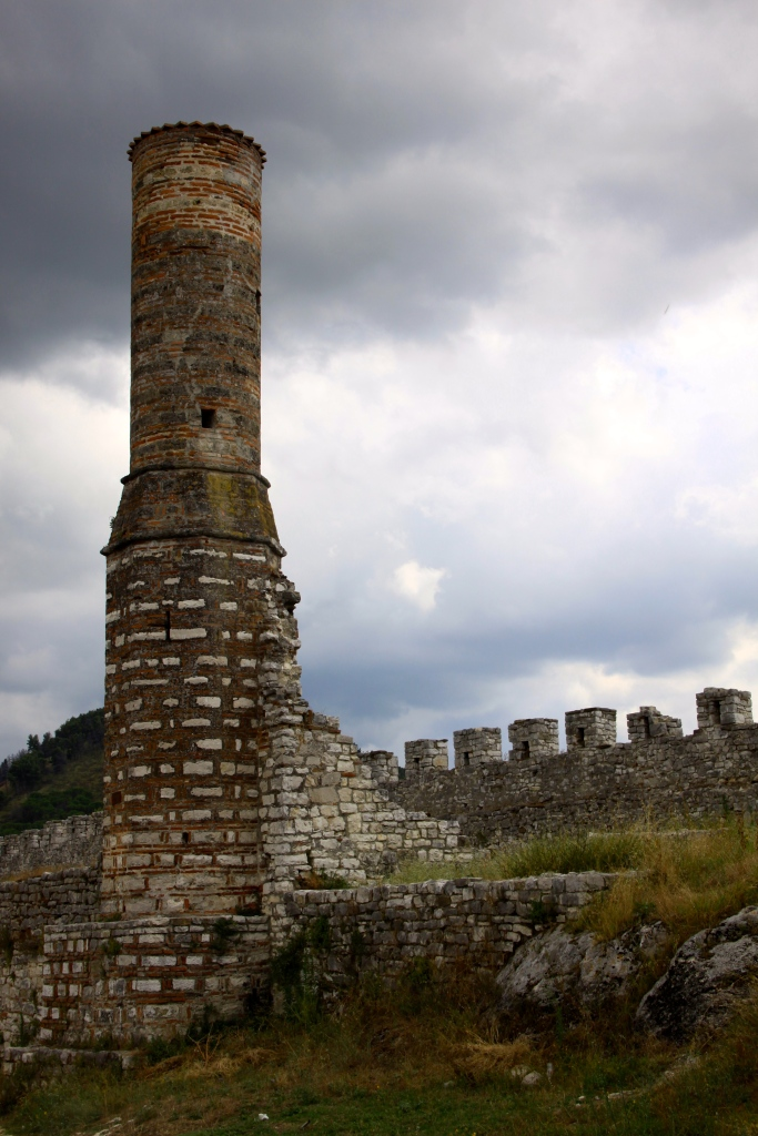 This minaret is all that is left standing of a mosque