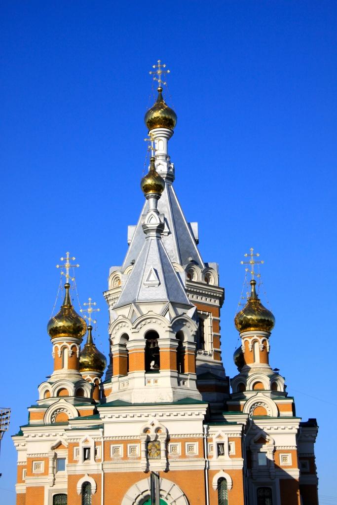 A fancy church