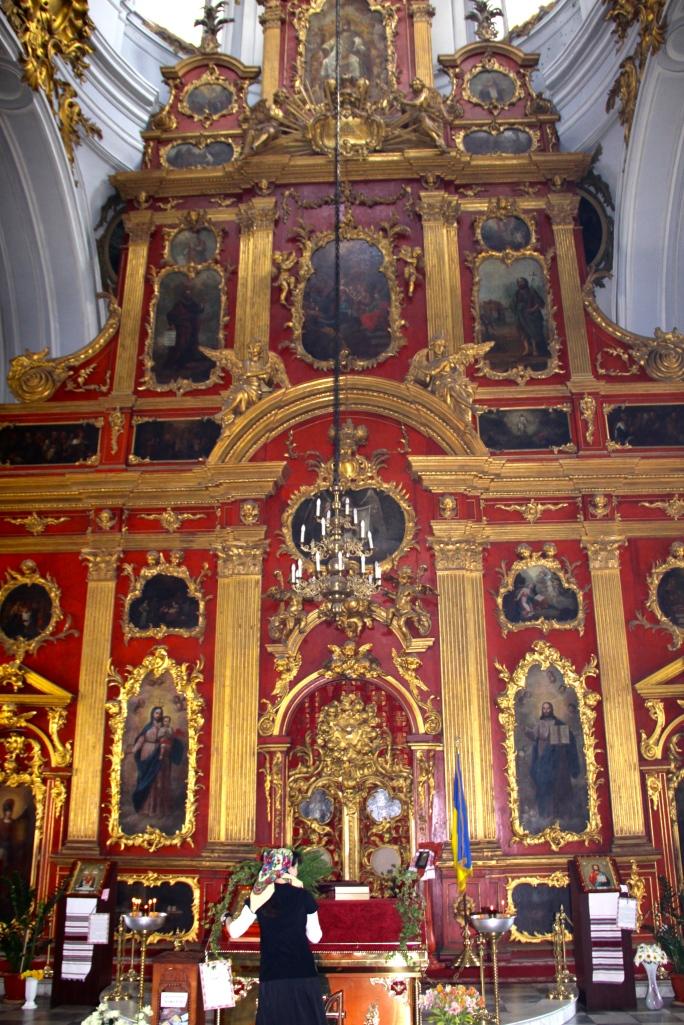 Inside St. Andrew's Church