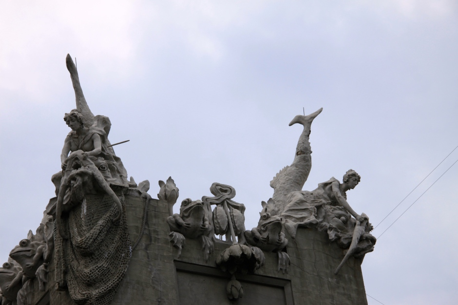 'Chimeras' on the Gorodestsky Building