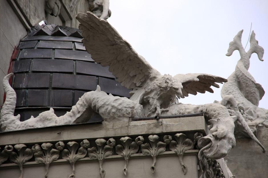 Eagle and a dragon?