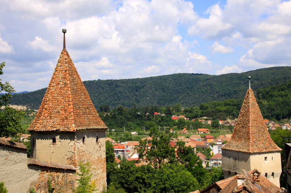 Sighisoara below the Citadel