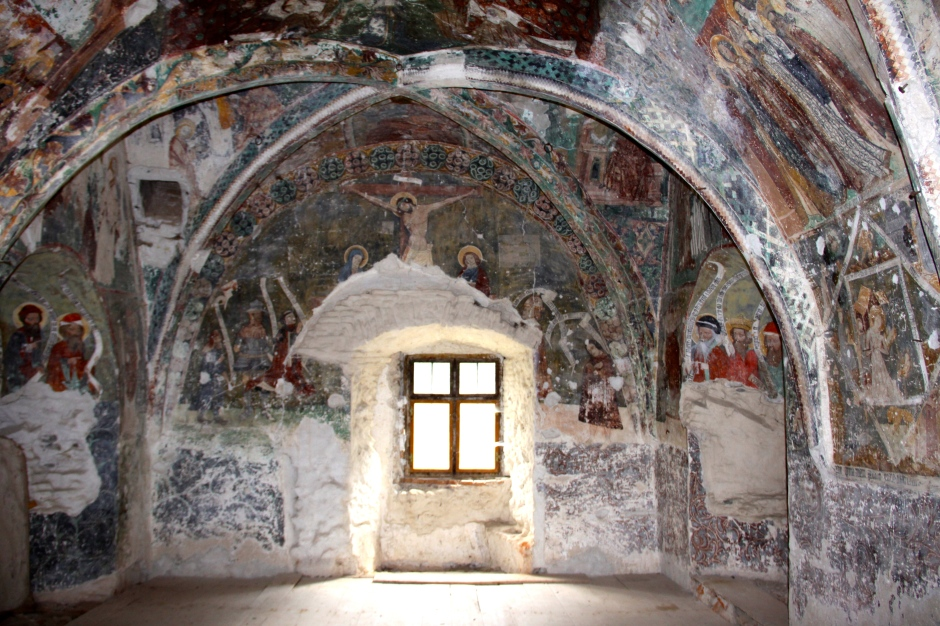 15th Century Paintings in the Chapel Tower