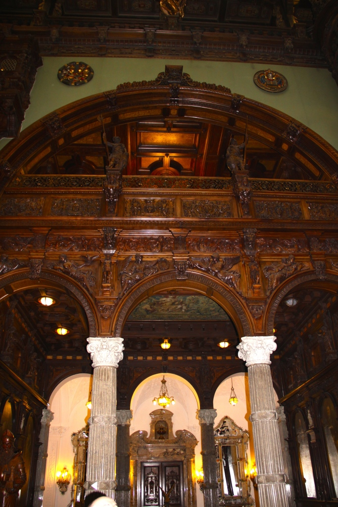 Part of one of the reception rooms inside Peles Castle (before the guides clamped down on photos)