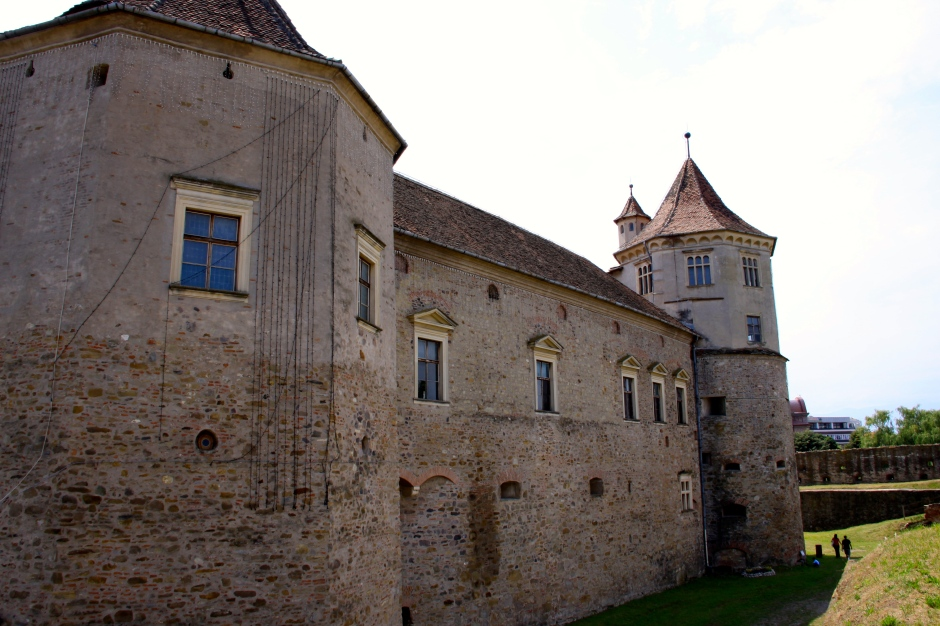 The inner wall and towers