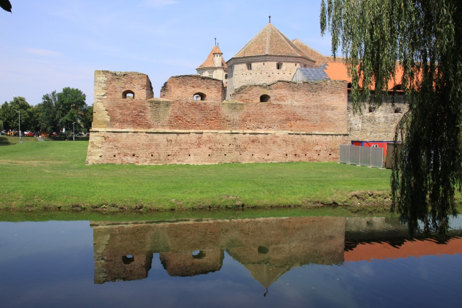 Fagaras Fortress and Moat