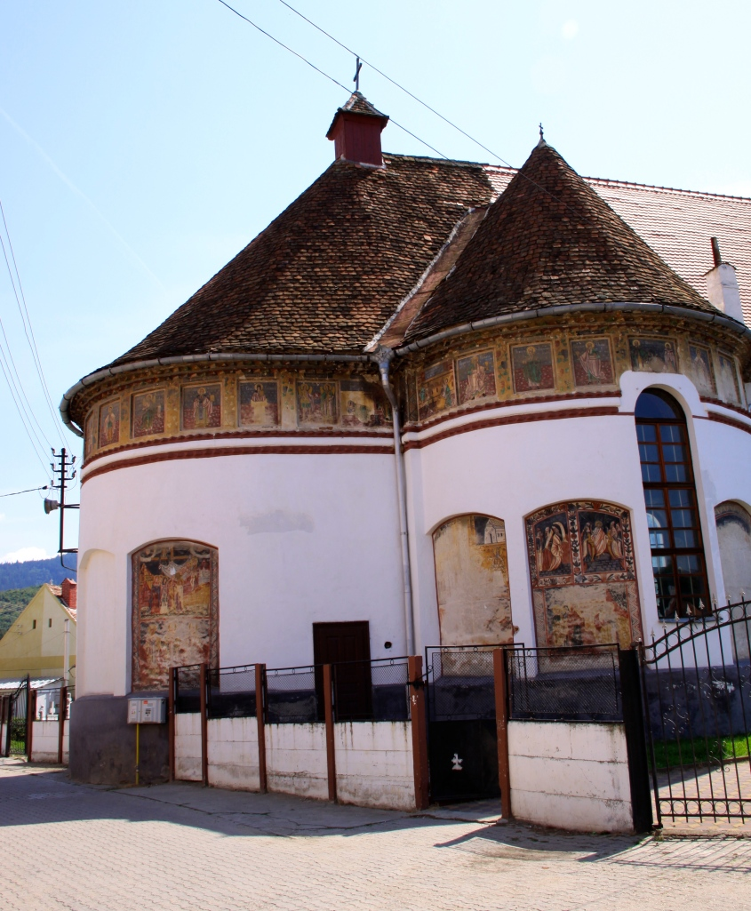 Church of the Ascension of Christ and Saint Oprea' in Saliste, Romania
