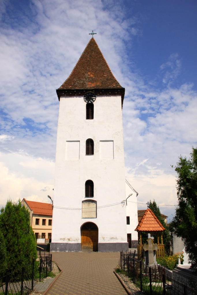 'Church of the Ascension of Christ and Saint Oprea' in Saliste, Romania