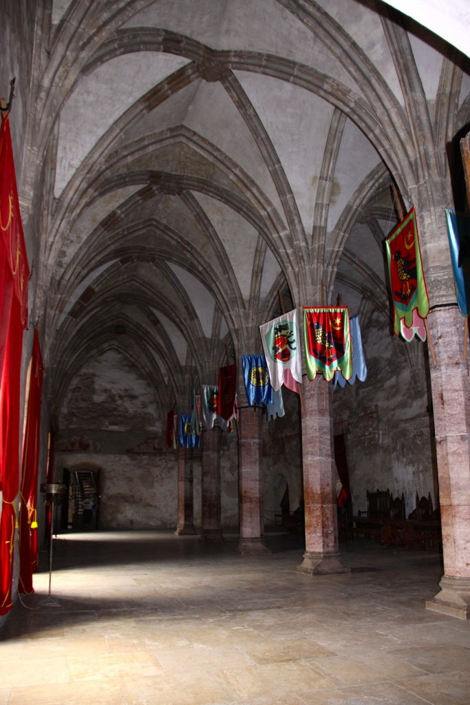 The Diet Hall - Corvinesti Castle