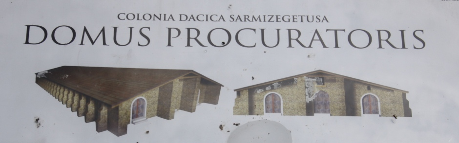 Artist impression of the Domus Procurator building