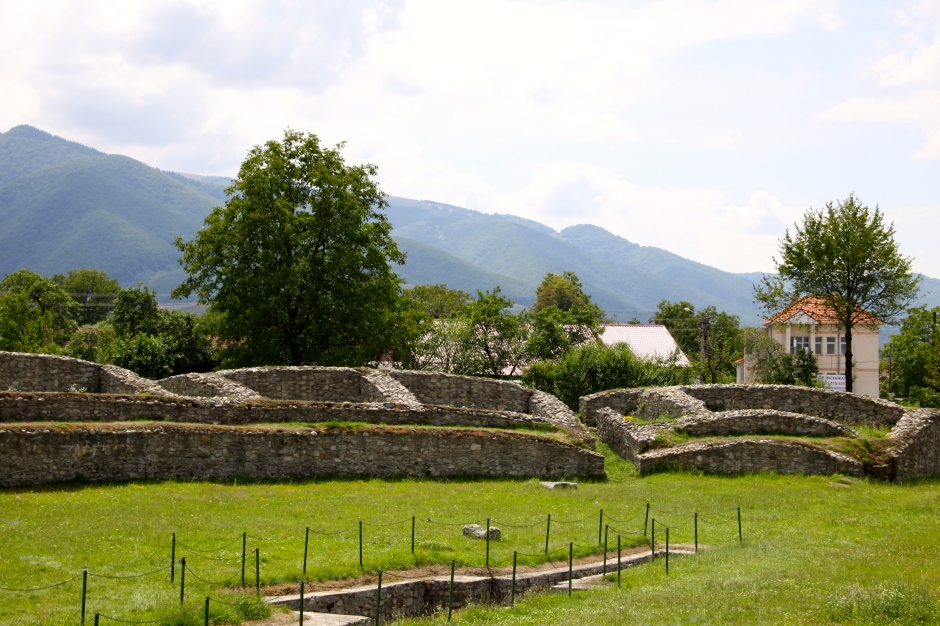 Ruins of the amphitheatre