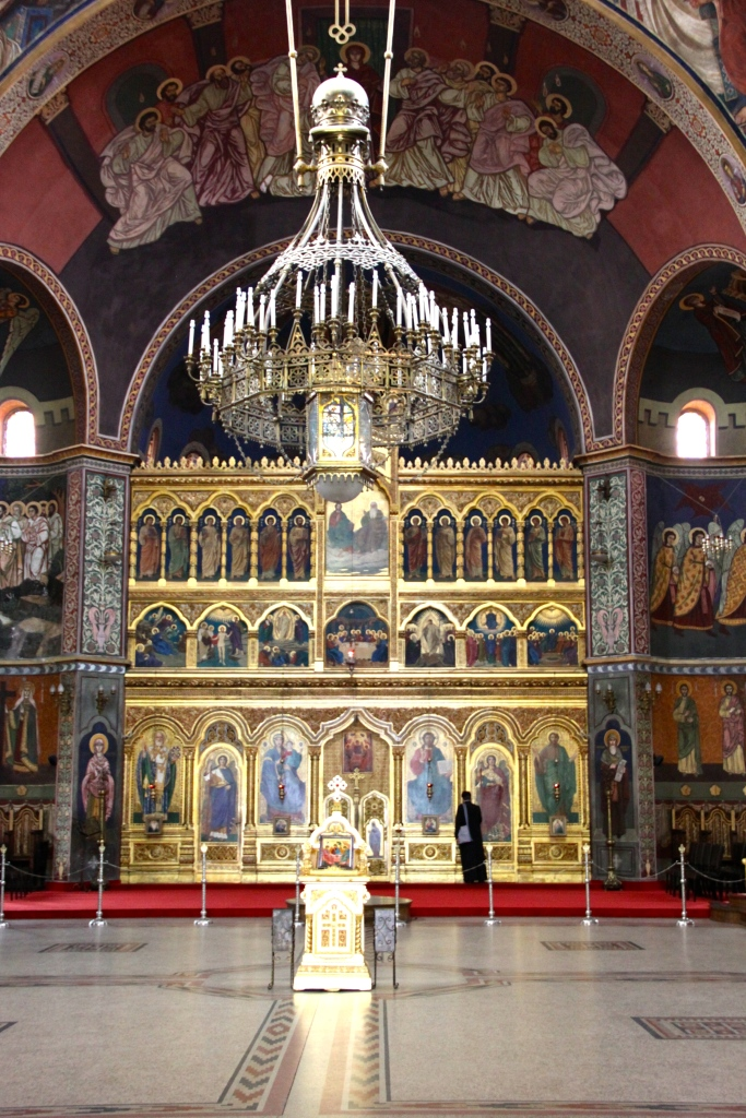 Inside the Romanian Orthodox Cathedral