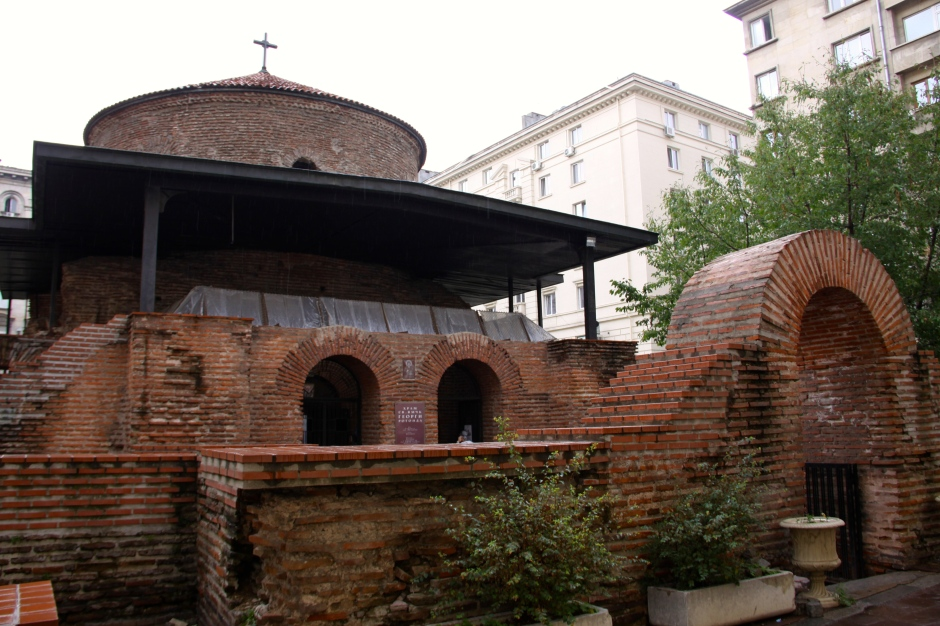 Church of St. George. Oldest building in Sofia
