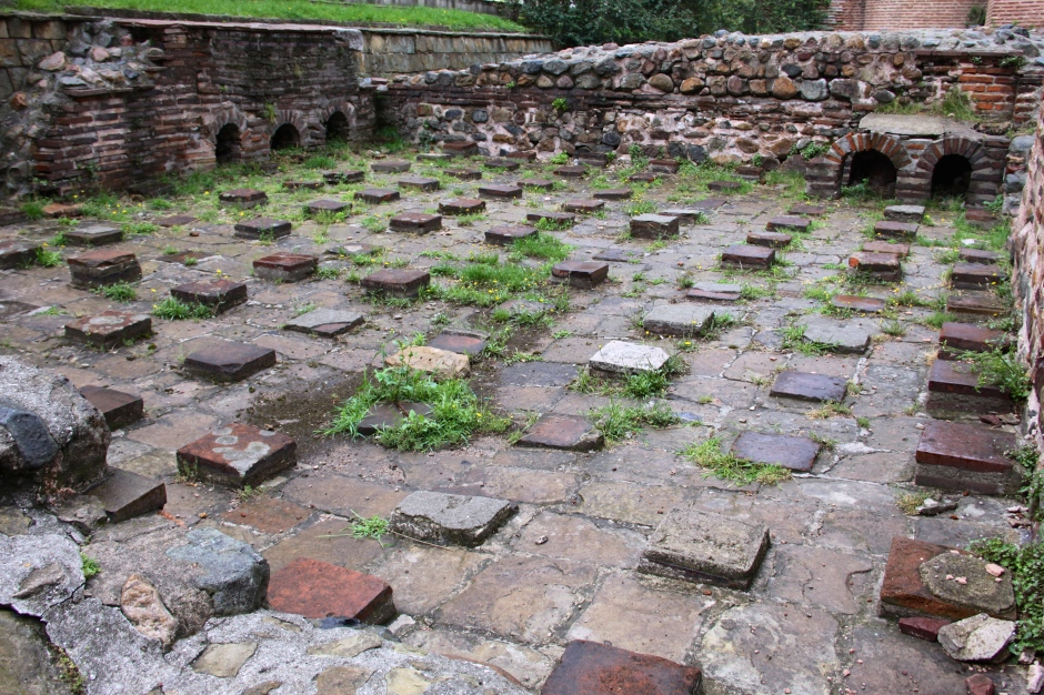 Ancient remains of the town of Seredica