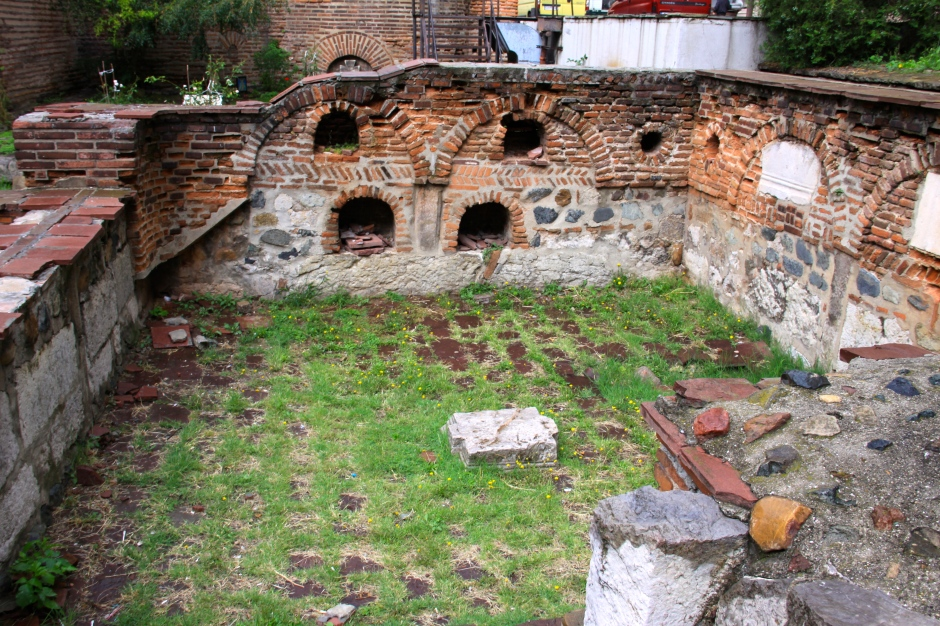 Ancient remains of the town of Serdica