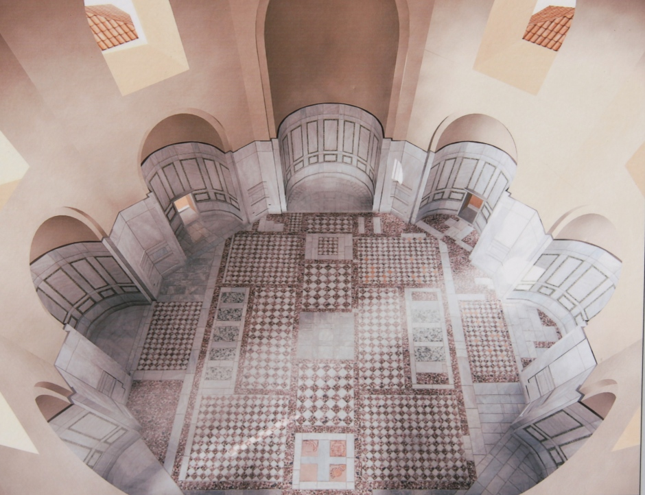 Artist impression of the interior of the Octagon