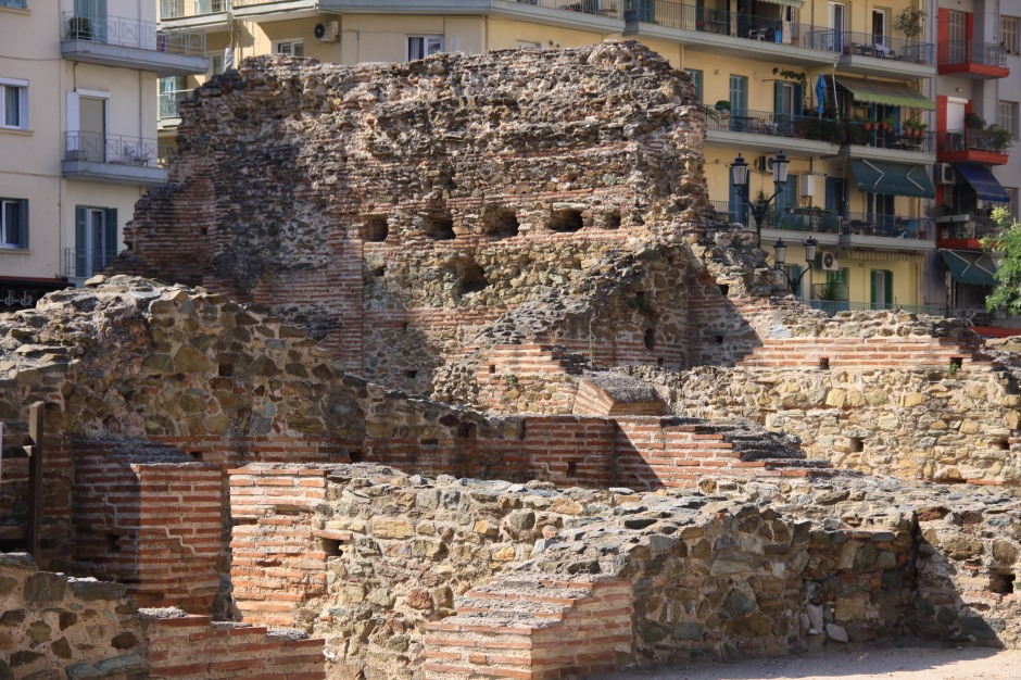 Section between the Baths and the Basilica