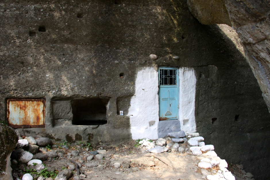The end of the trail - a hermit's retreat?