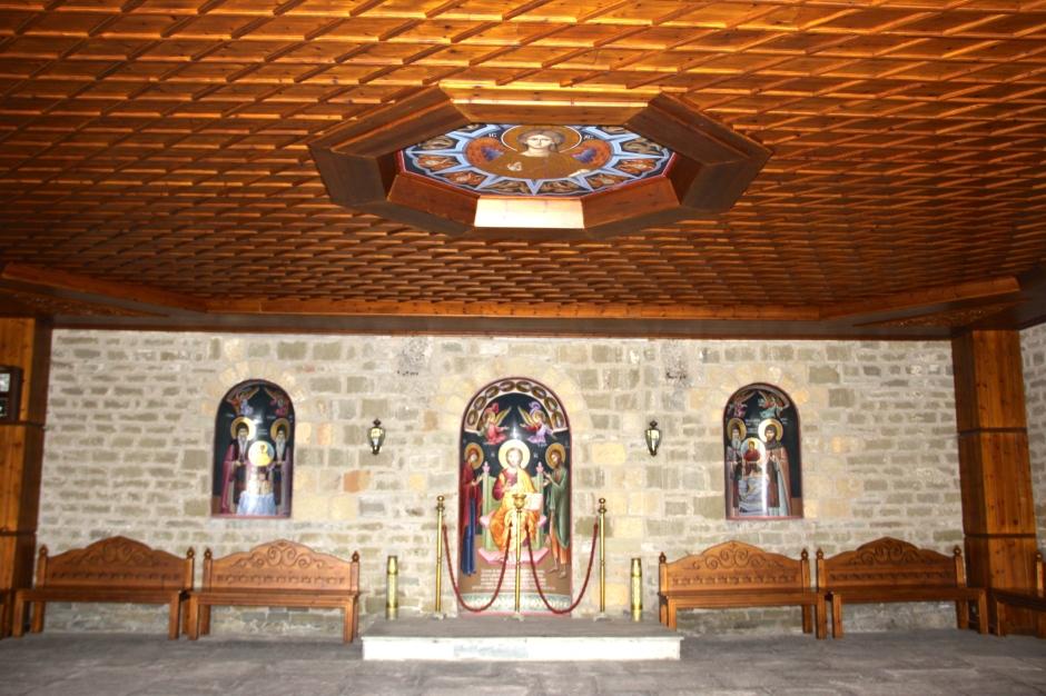 Inside Varlaam Monastery