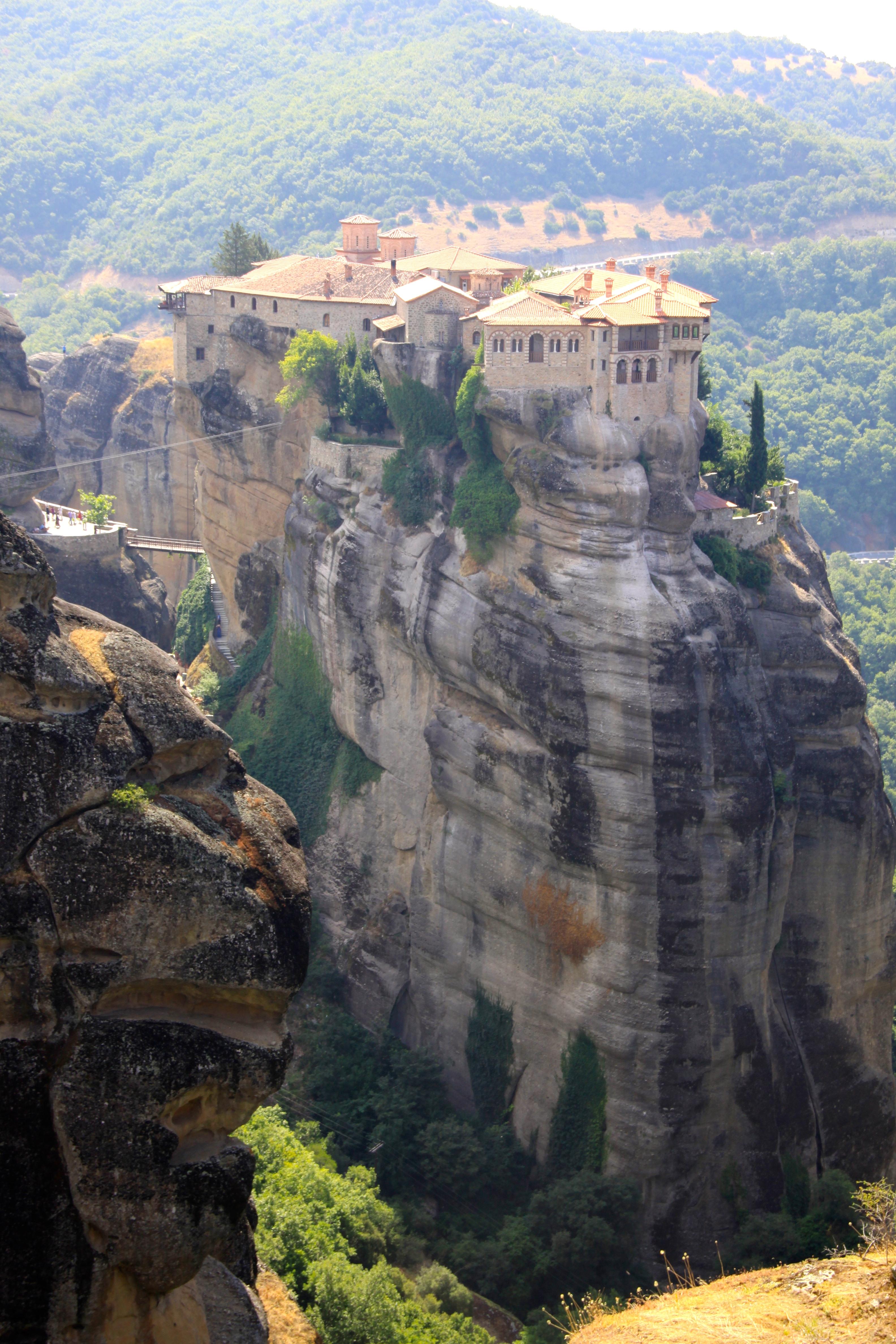 Varlaam Monastery, Meteora, Greece бесплатно