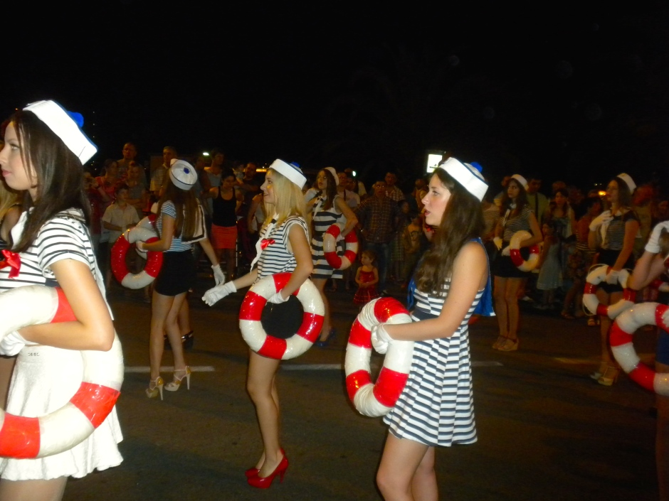 Sailor girls in short skirts - what's not to like?