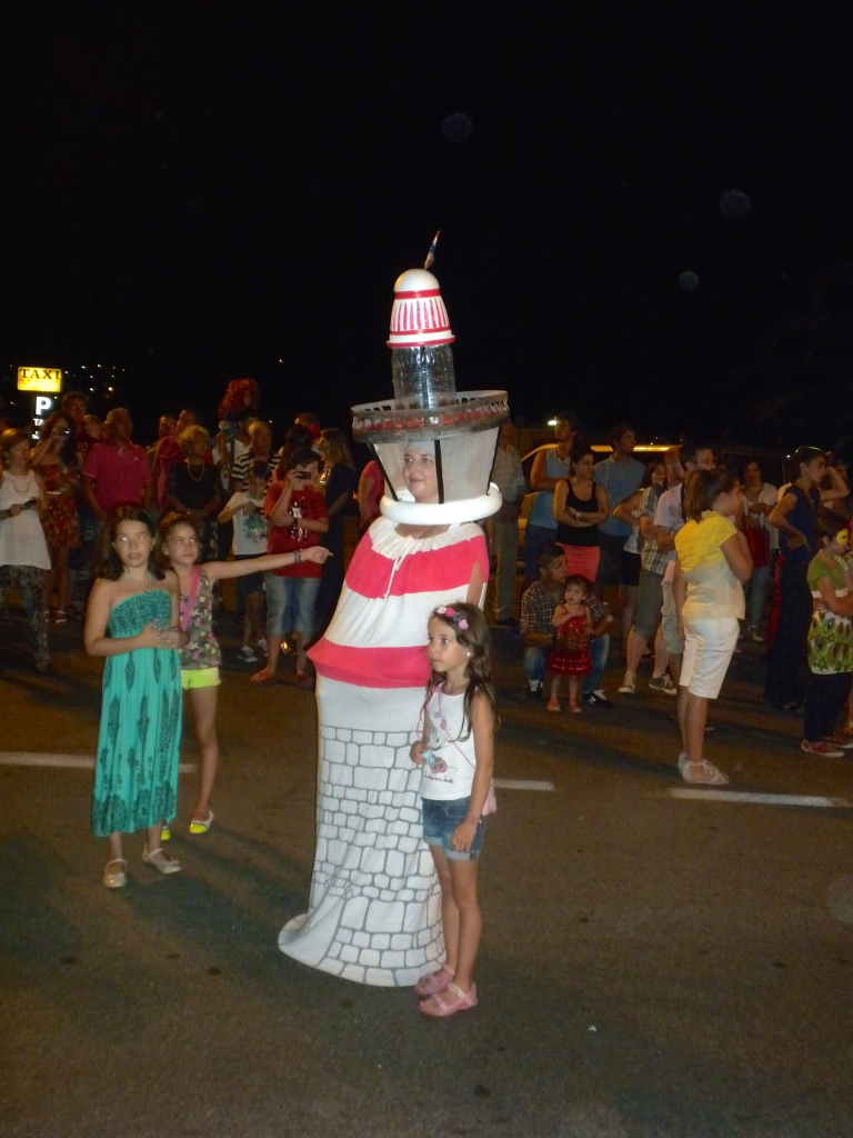 One group were all dressed as lighthouses!