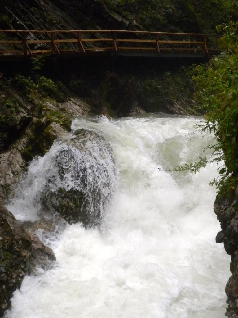 The 13 metre high Sum Waterfall