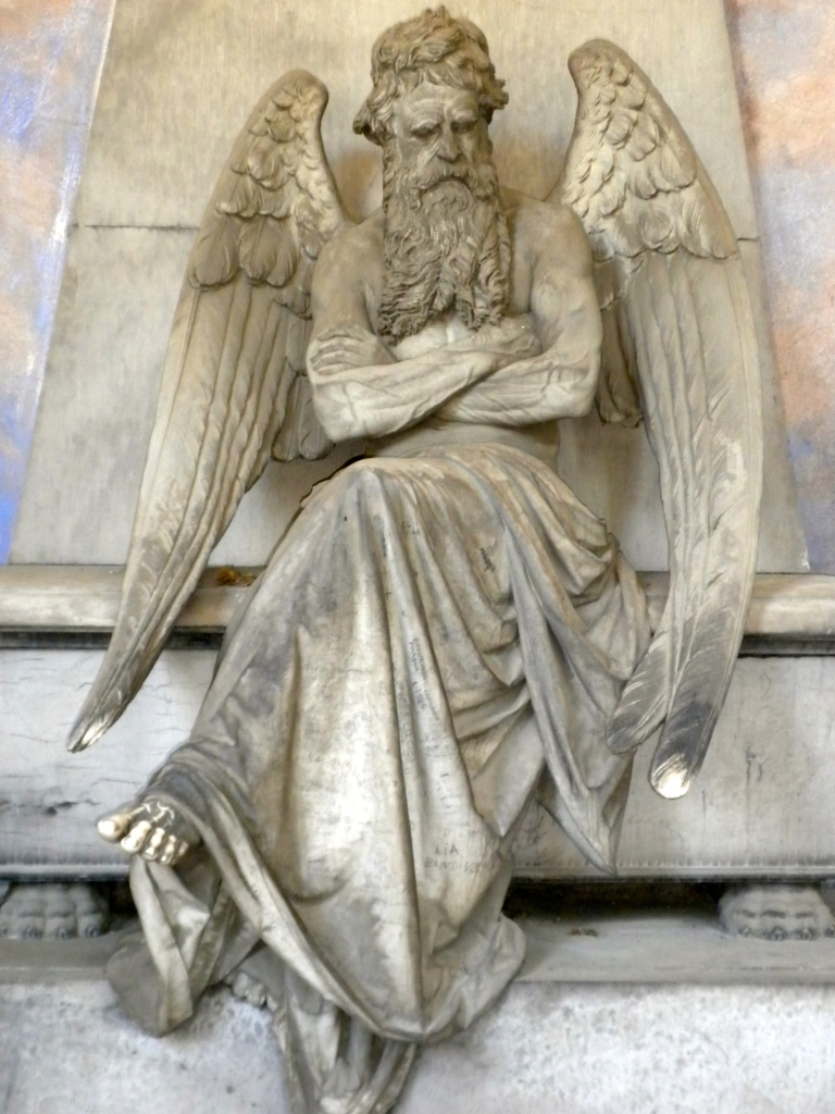 A rather interesting looking angel