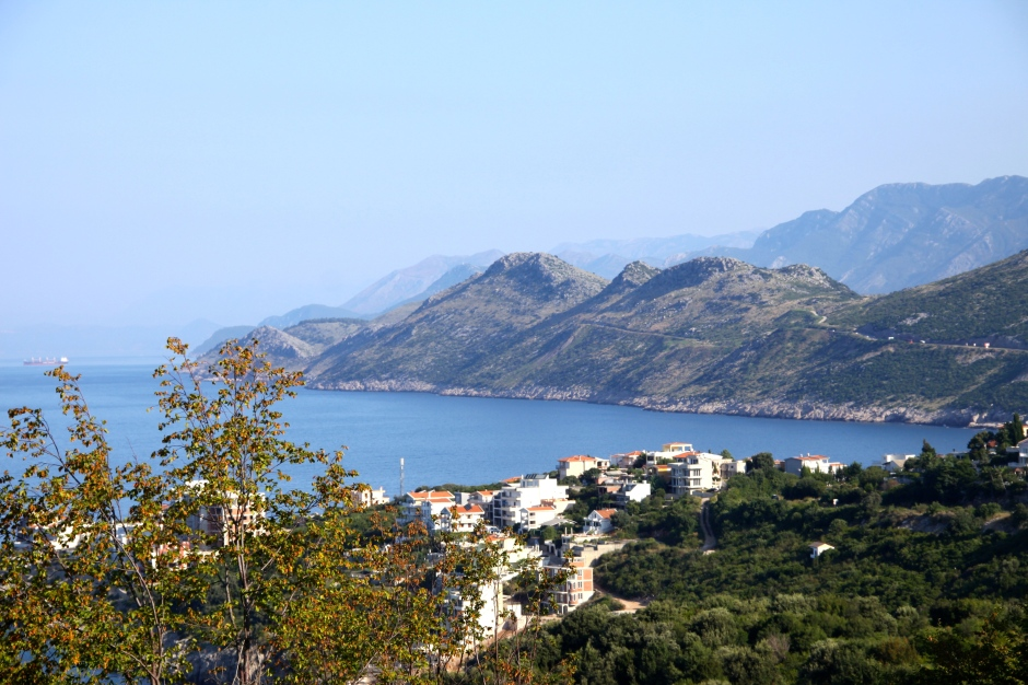 Coastal view north of Ulcinj