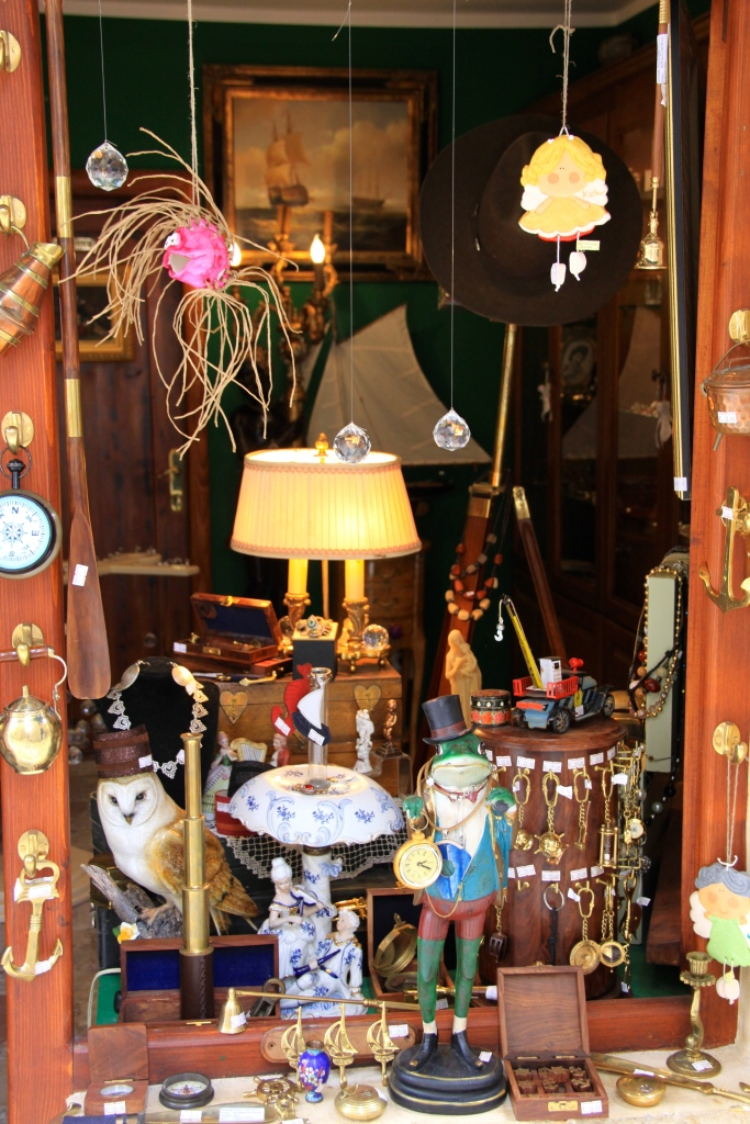 A shop window in the old town