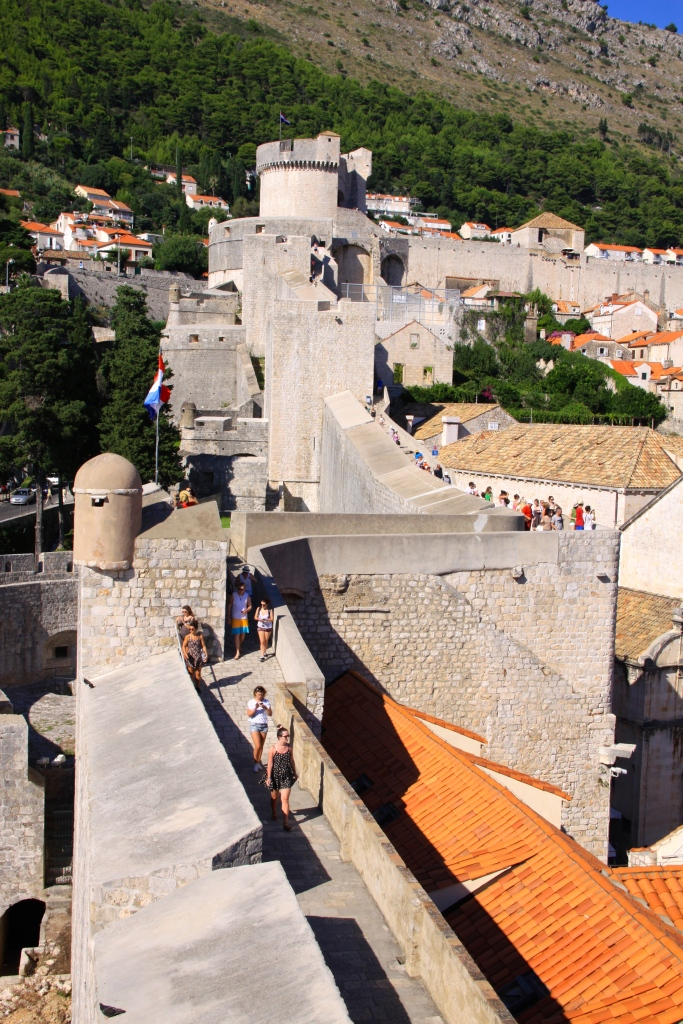 Part of the city walls