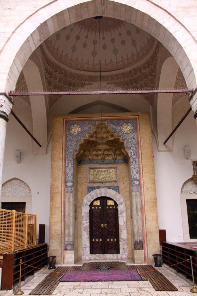 Entrance to Gazi Husrev-Bey Mosque