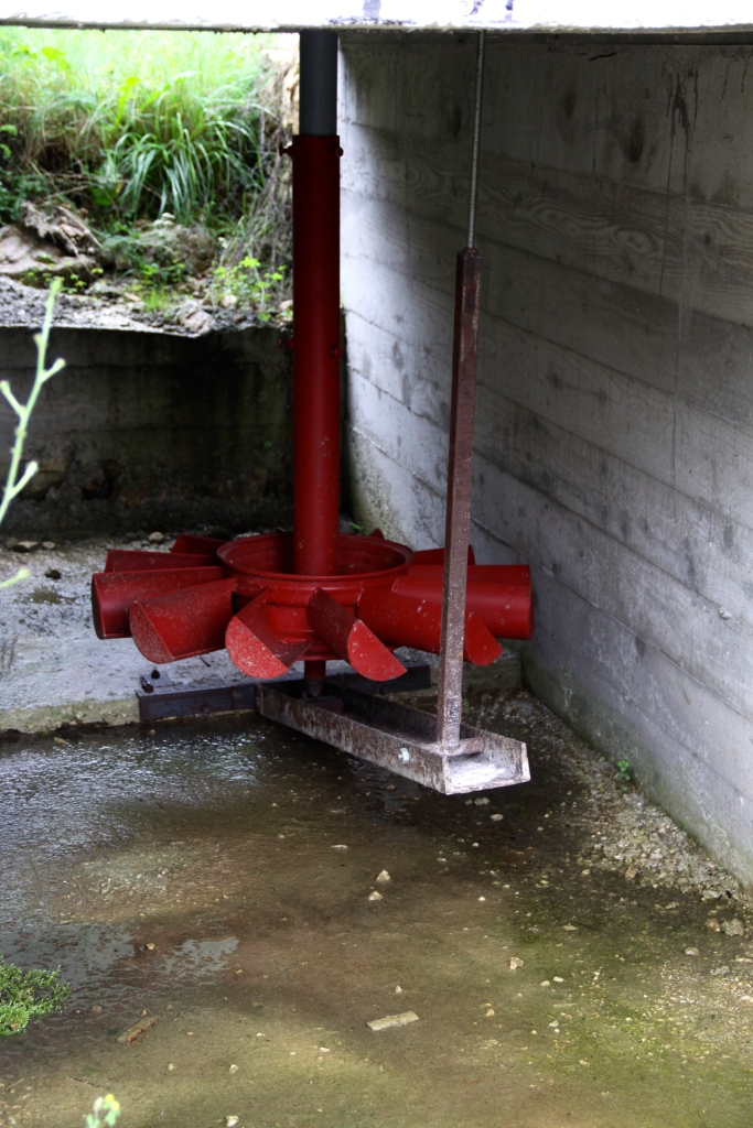 New mechanical bits under the new mill - ready to start work