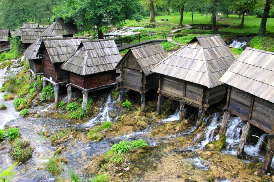 Pliva watermills