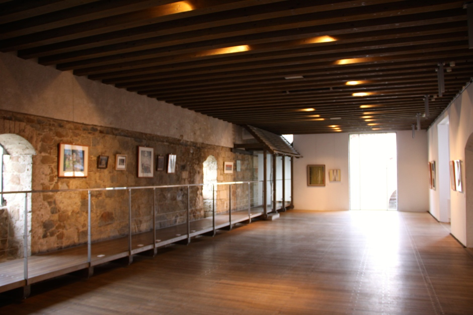 Art gallery in the castle