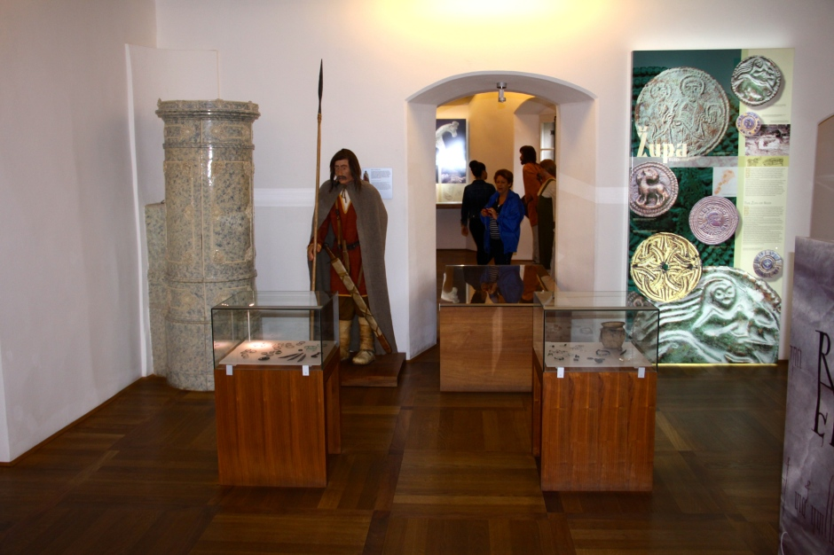 One of the rooms of the museum